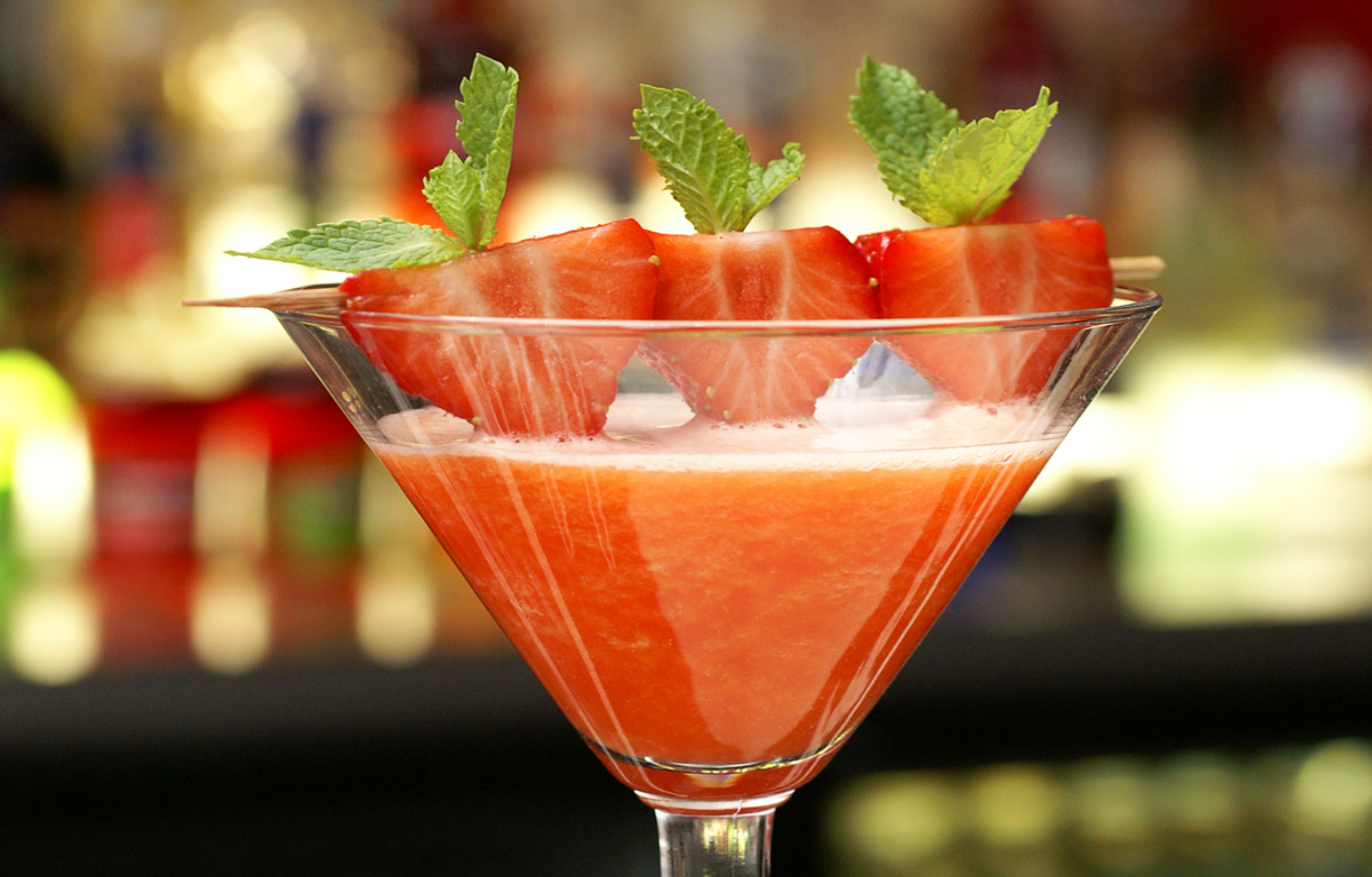 The classic Strawberry Daiquiri