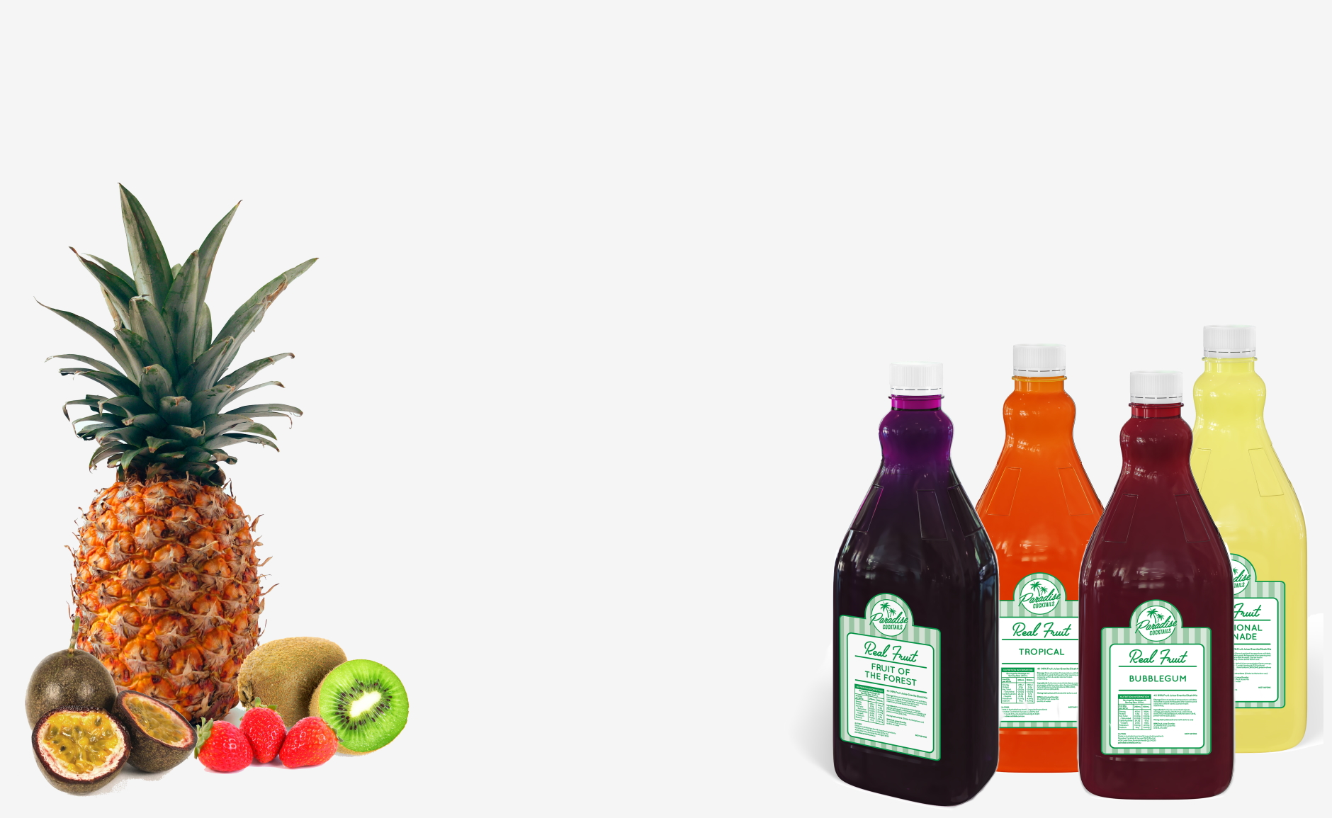 Real Fruit Slushy Mix